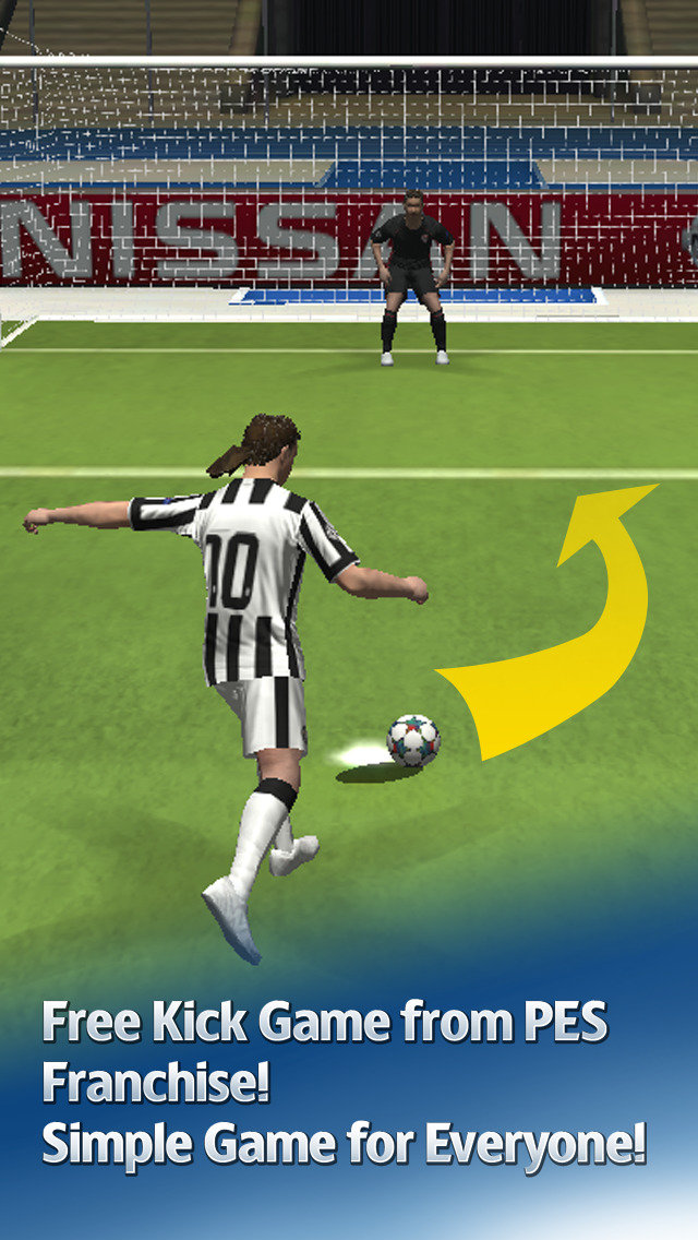 UEFA Champions League PES FLiCK screenshot 1