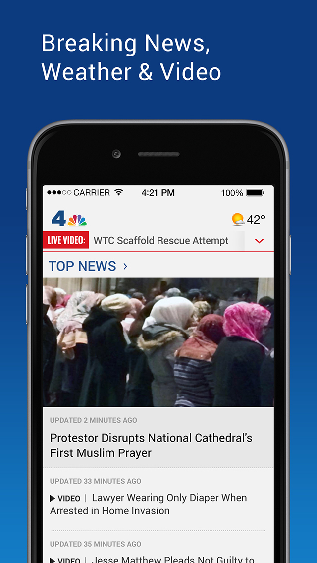 NBC4 Washington screenshot 1