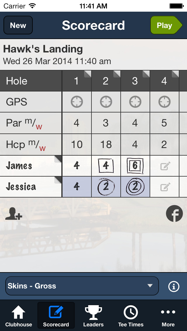 Hawk's Landing Golf Club screenshot 4