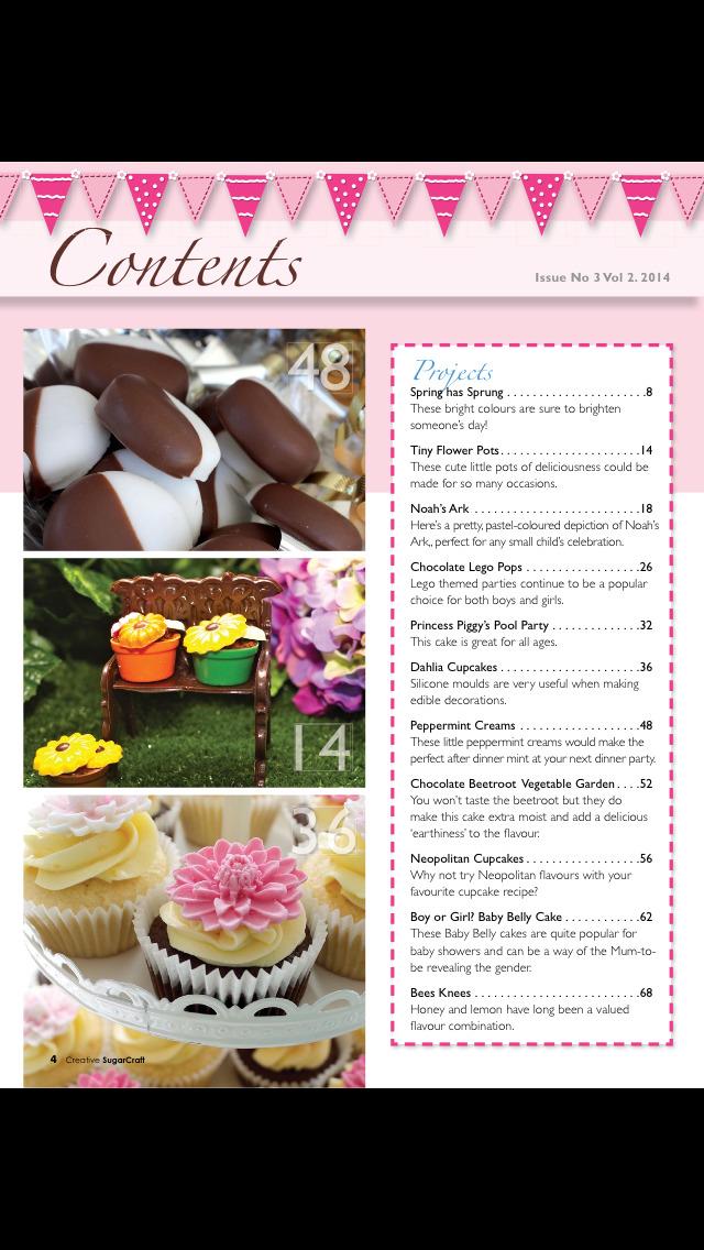 Creative Sugar Craft Magazine screenshot 2