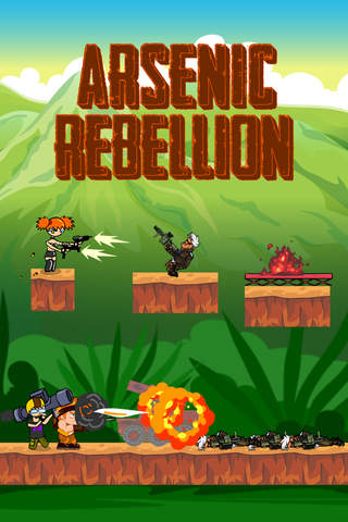 Arsenic Rebellion – Soldier Jungle Battle Jump & R - náhled