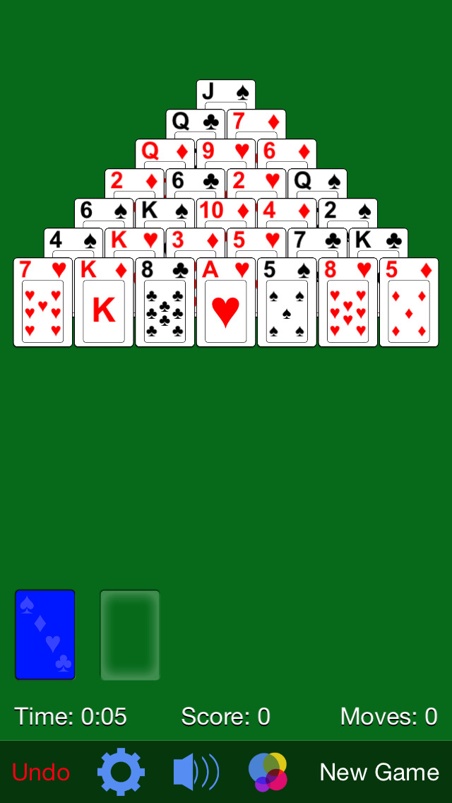 Pyramid Solitaire· screenshot 1