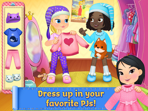 PJ Party Girl Sleepover screenshot 10