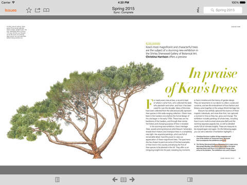 Kew Magazine screenshot 8