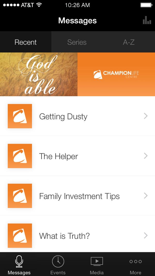 Champion Life Centre screenshot 1