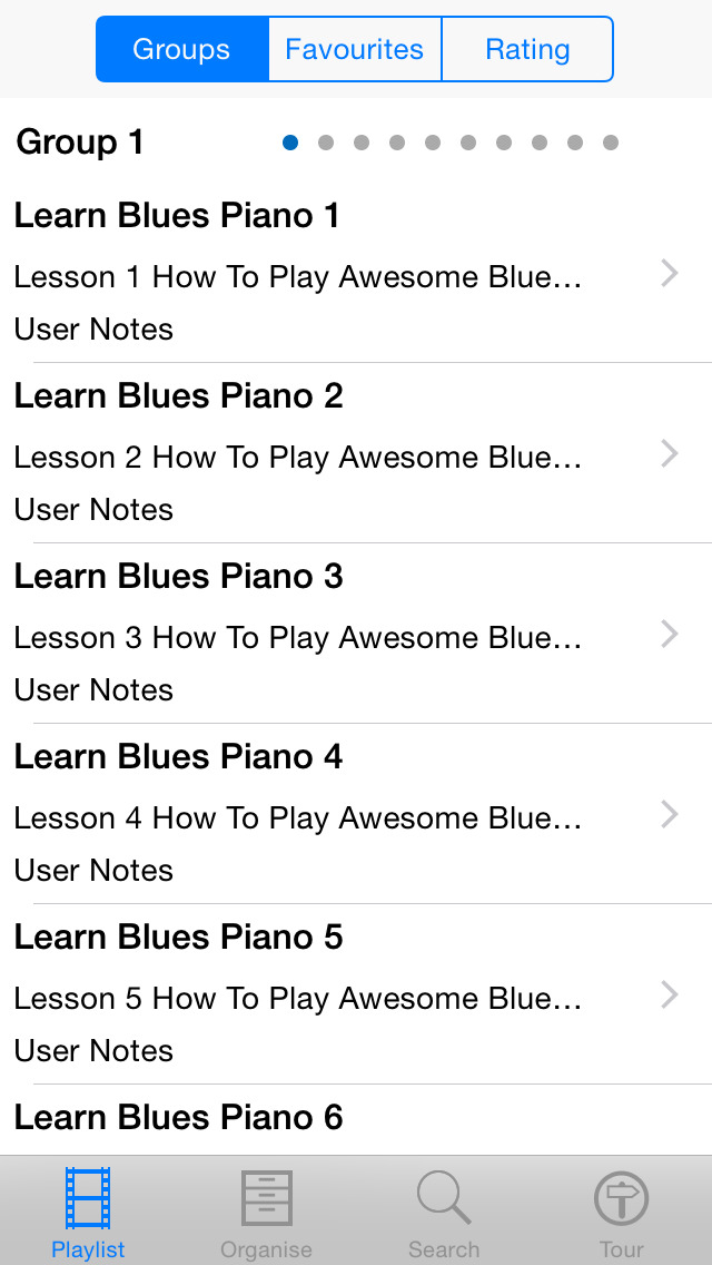Learn Blues Piano screenshot 2