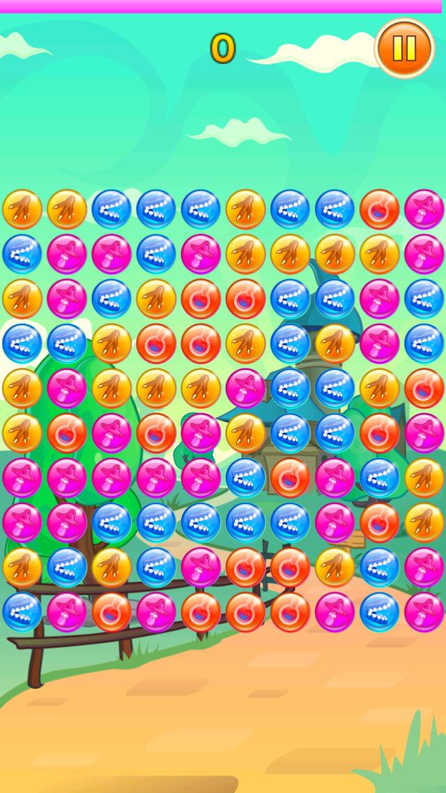 The Bubble Dot Circle Match Game screenshot 1
