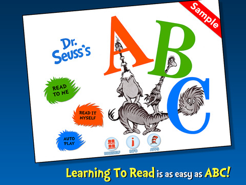 Dr. Seuss's ABC - SAMPLE screenshot 6