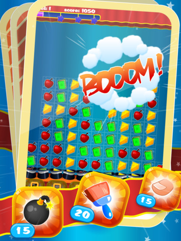 Magic Hat - Free Collapse Match-3 Puzzle Game screenshot 7