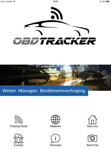 OBDTracker - náhled