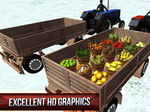 Winter Hill Climb Truck Racing screenshot 7