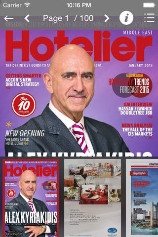 Hotelier Middle East - náhled