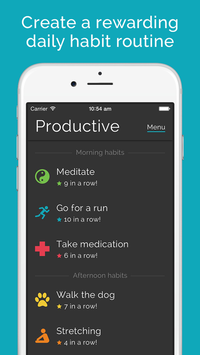 Productive - Habit Tracker screenshot 1