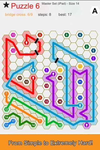 Hexic Link: Bridges - náhled