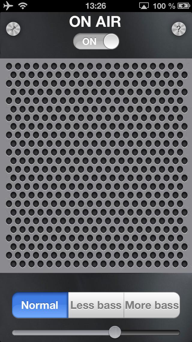Air Microphone screenshot 1