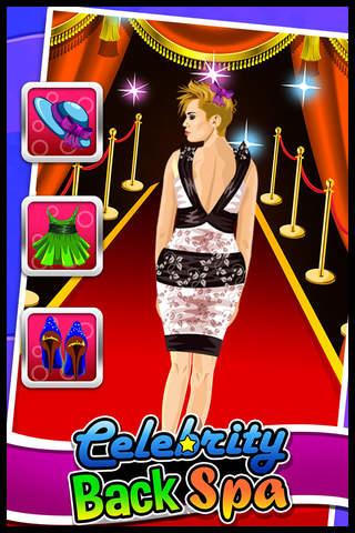 Celebrity Back Spa Makeover Salon - Famous Celeb M - náhled