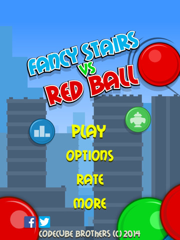 Fancy Stairs vs Red Ball FREE screenshot 8