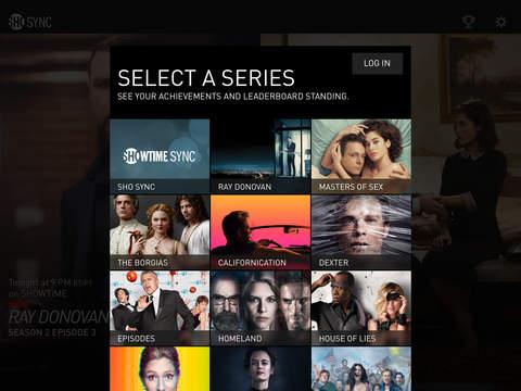 Showtime Sync – Second Screen app for Showtime Original Series screenshot 10