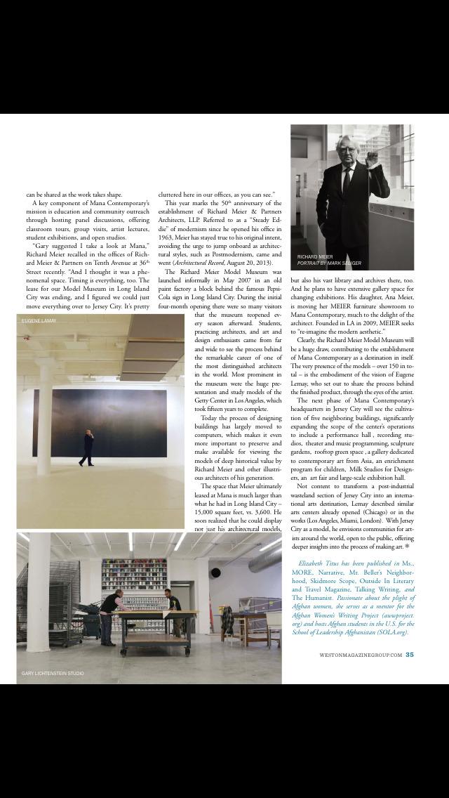 SohoNYC Magazine screenshot 3