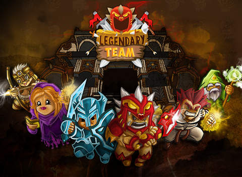 Legendary Team – the action role playing game for epic heroes screenshot 6