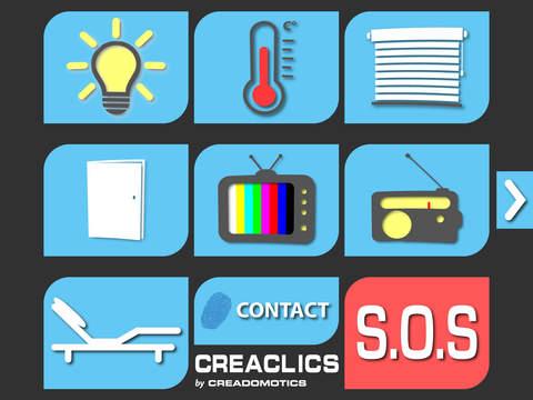 CreaClics - náhled