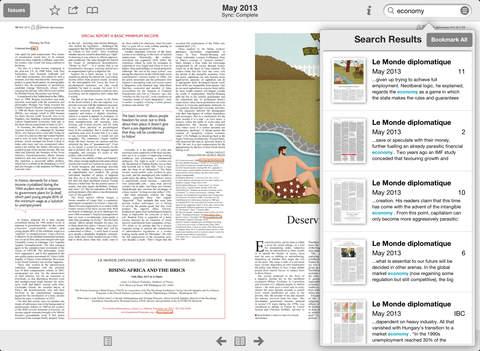 Le Monde diplomatique, English screenshot 9
