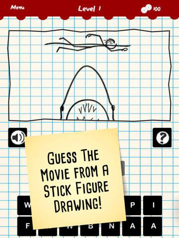 Stick Figure Movie Trivia screenshot 6