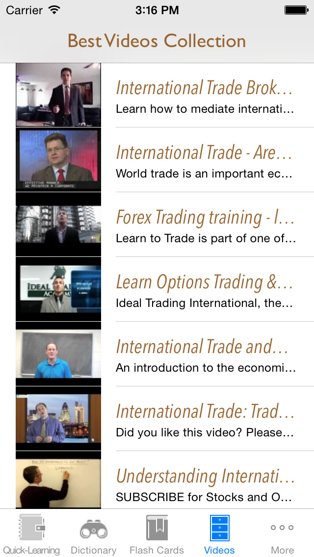 International Trade & Relations Quick Study Reference: Best Dictionary with Video Lessons and Learning Cheat Sheets screenshot 5