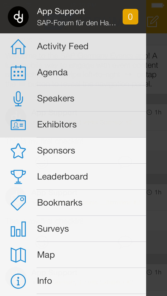 SAP Germany Events screenshot 2