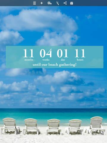 Big Day (with Facebook Event & Calendar) Countdown screenshot 6