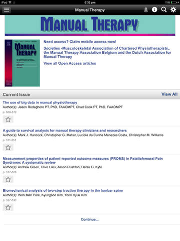 MSK Physiotherapy Journal screenshot 7