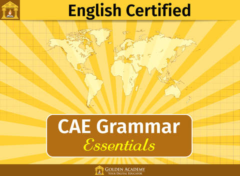 English Certified : CAE Grammar Essentials FREE screenshot 6