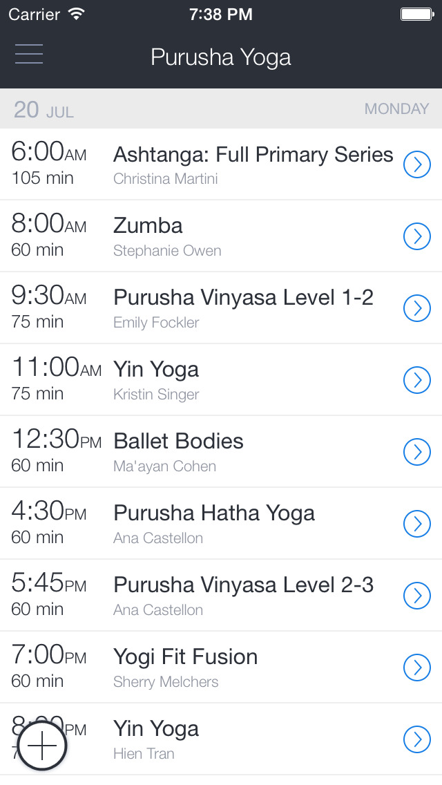 Purusha Yoga screenshot 1