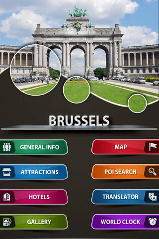 Brussels City Offline Travel Guide - náhled