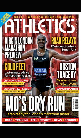 Athletics Weekly Magazine screenshot 1