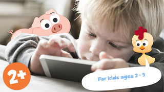 Free Play with Farm Animals Cartoon Jigsaw Game for toddlers and preschoolers screenshot 4