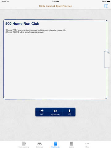 Dictionary of Sports: Flashcard with Free Video Lessons and Cheatsheets screenshot 9