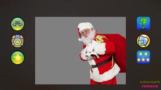 Christmas photo by Santa Claus screenshot 2