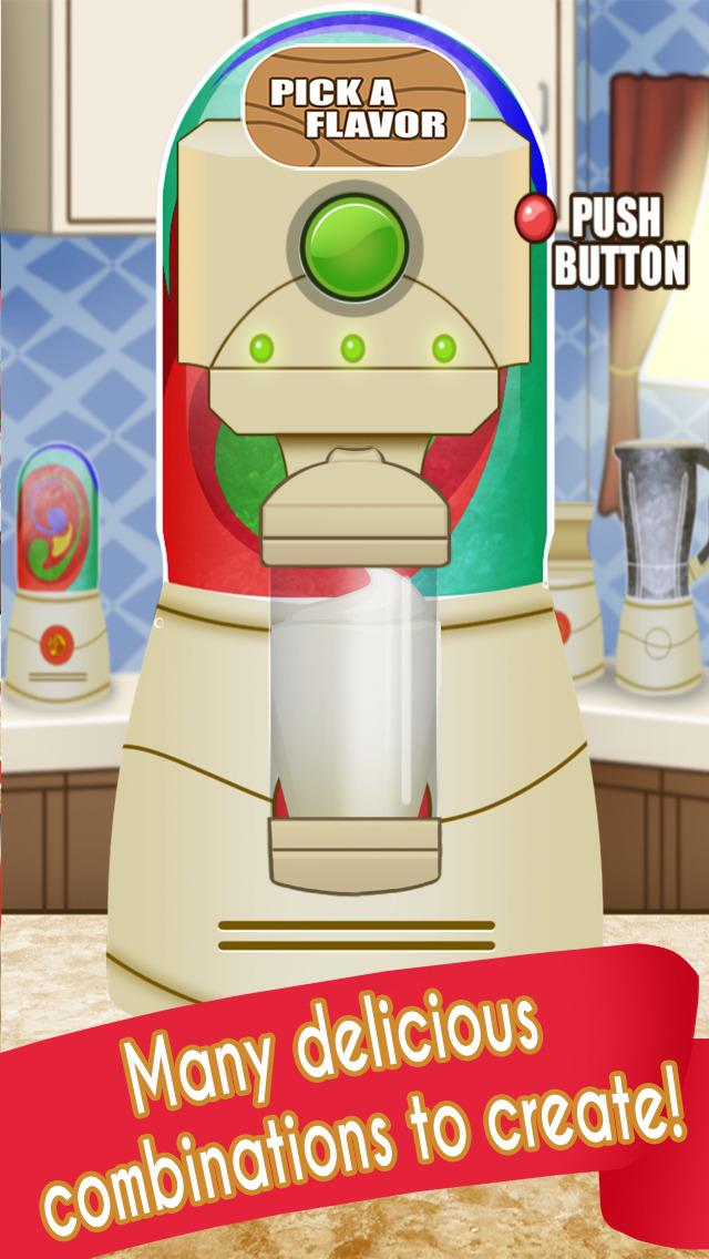 Ice Cream Milkshake Smoothie Dessert Drink Maker screenshot 3