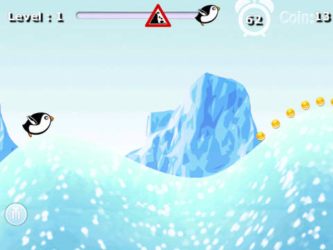 Crazy Penguin Avalanche Racer Pro - amazing downhill racing game screenshot 6