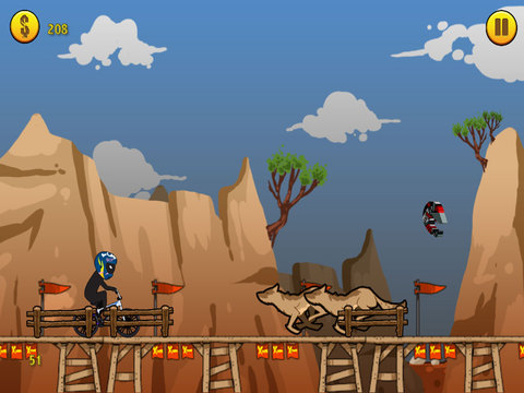 A BMX Stickman Racer - eXtreme Stunts & Tricks Racing Edition screenshot 8