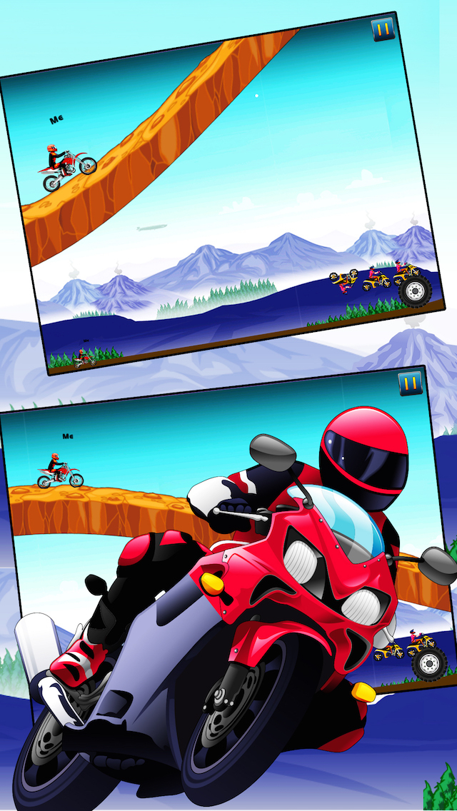 Moto Combat - Tilt and Avoid Traffic to Live - Stunt Bike Driving Simulator Game screenshot 3
