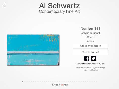 Al Schwartz Contemporary Fine Art screenshot #1