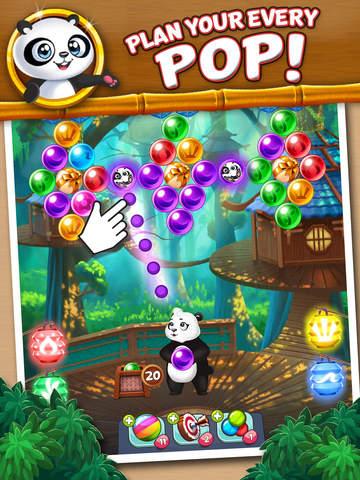 Panda Pop! Bubble Shooter Game screenshot 6