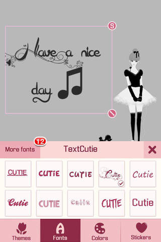 TextCutie - Texting with Photo Caption & Add Font, - náhled