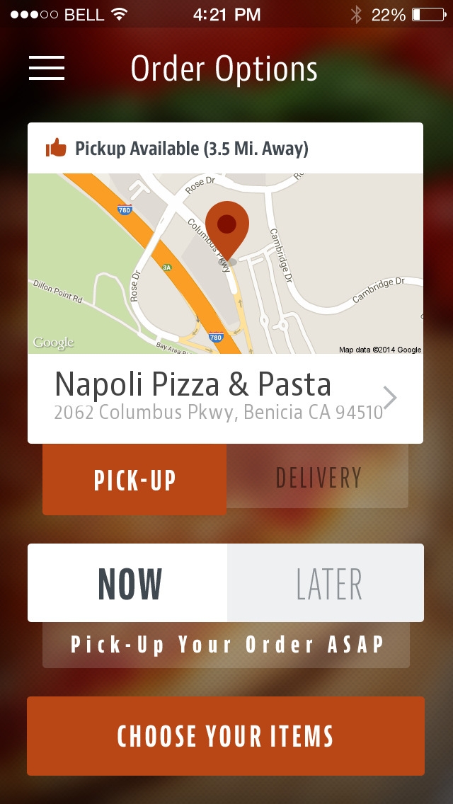 Napoli Pizza & Pasta in Benicia screenshot 2