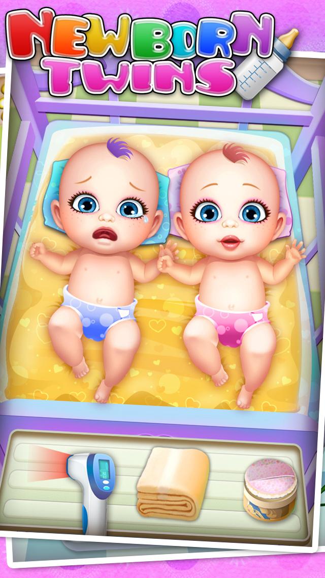 Newborn Twins Baby Care - Kids Games & New Baby screenshot 3