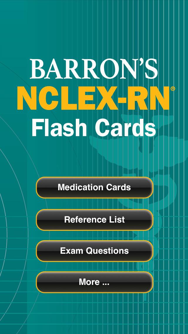Barron's NCLEX-RN Review screenshot 1