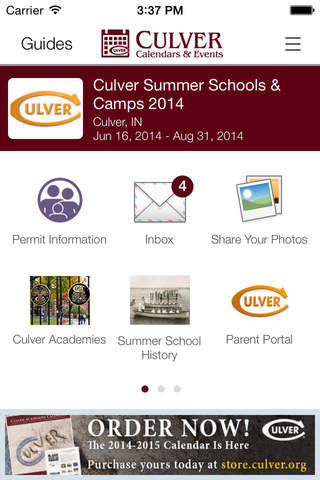 Culver Calendars - náhled