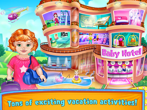 Baby Vacation - Hotel Adventures screenshot 9